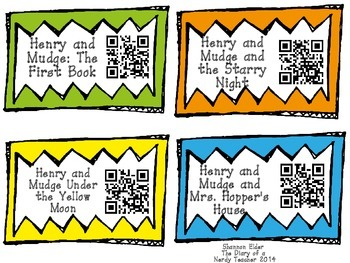 Cynthia Rylant QR Readers for Listen to Reading