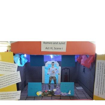 Cyrano De Bergerac: 3D Scene Analysis Project Diorama: Distance Learning
