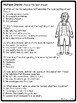 Cyrano de Bergerac Act 3 Reading Guide and Comprehension Questions, Drama