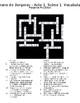 Cyrano de Bergerac - Acte 1, Scène 1 Vocabulaire Mots-croisés / Crossword