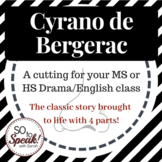 Cyrano de Bergerac Cuttings and Activities