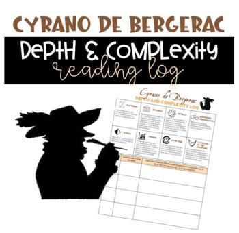 Cyrano de Bergerac Depth and Complexity Reading Log