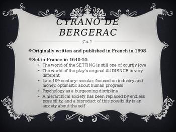 Cyrano de Bergerac Introductory PowerPoint