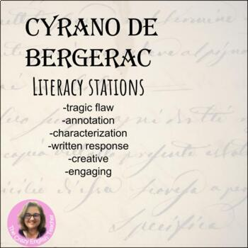 Cyrano de Bergerac: Literacy Stations