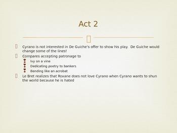 Cyrano de Bergerac Powerpoint Act 2