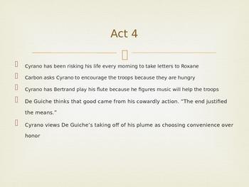 Cyrano de Bergerac Powerpoint Act 4