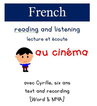 Cyrille Reading and Listening - Au cinema