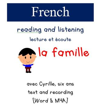 Cyrille Reading and Listening - La Famille