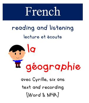 Cyrille Reading and Listening - La Geographie