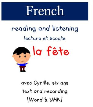 Cyrille Reading and Listening - La fete