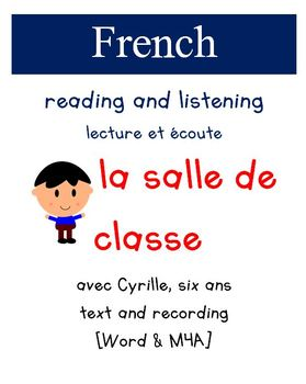 Cyrille Reading and Listening - La salle de classe