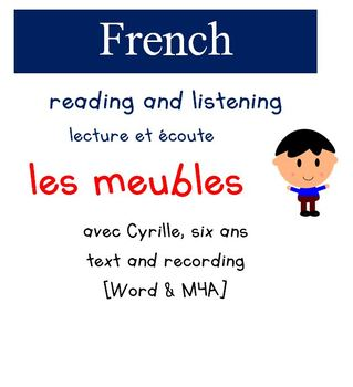 Cyrille Reading and Listening - Les Meubles