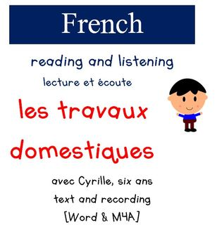 Cyrille Reading and Listening - Les Travaux domestiques