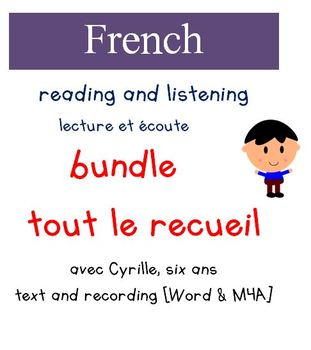 Cyrille Reading and Listening Packaged Bundle