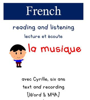 Cyrille Reading and Listening - la Musique