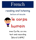 Cyrille Reading and Listening - le Corps humain