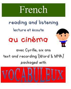 Cyrille et Vocabuleux  Set - Au cinéma