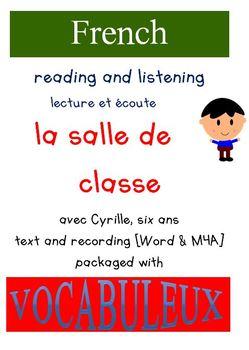 Cyrille et Vocabuleux  Set - La salle de classe