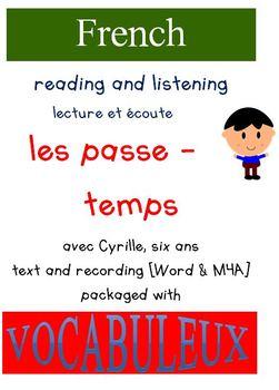 Cyrille et Vocabuleux  Set - Les Passe-temps