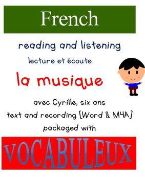 Cyrille et Vocabuleux  Set - la Musique