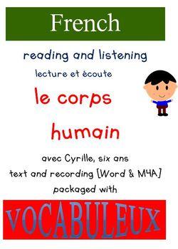 Cyrille et Vocabuleux  Set - le Corps humain