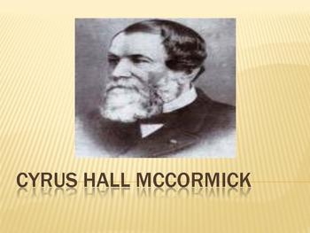Cyrus Hall McCormick PowerPoint