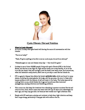 Cystic Fibrosis - Informational Text Test Prep