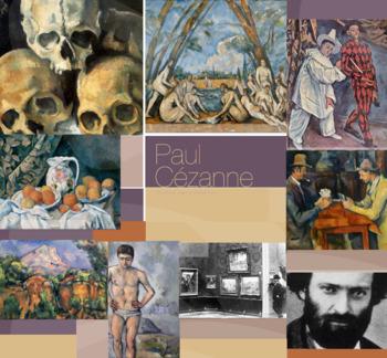 Post-Impression Artist Paul Cézanne - FREE POSTER