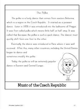 Czech Republic Copywork, Activities, and Country Booklet