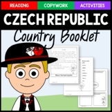 Czech Republic (Czechia) Copywork, Activities, and Country Booklet