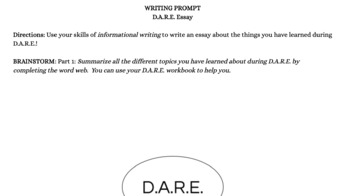 DARE Essay Writing Guide By Follow The Cairn