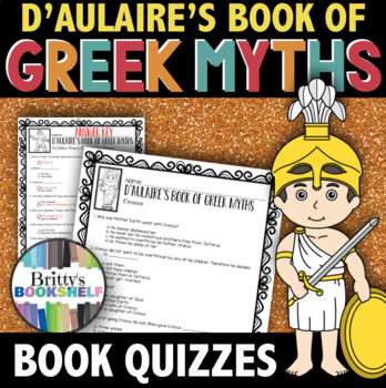 D'Aulaire's Book of Greek Myths - Book Quizzes by Organized ...