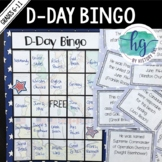 World War II (WWII) D-Day Bingo {Freebie!}
