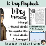D-Day Informational Text Flapbook