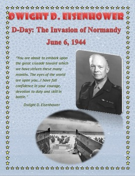 D-Day Primary Source Speech and Prayer from Eisenhower and Roosevelt