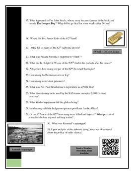 D - Day - Stephen Ambrose book Questions