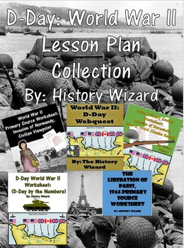 D-Day: World War II Lesson Plan Collection