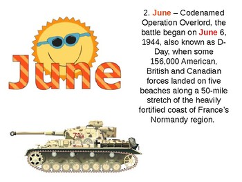 D Day World War Two History and Quiz
