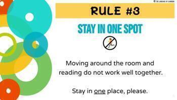 D.E.A.R. Time PowerPoint/Google Slides - Rules & Expectations - DEAR Rules
