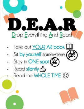D.E.A.R. Time Rules and Expectations Posters; DEAR Rules; *PRINTABLES!*