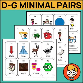 D-G Minimal Pair Cards