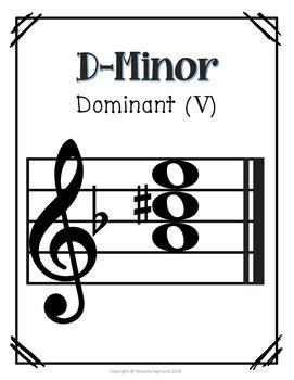 D-Minor Essential Tonal Functions, LA-based minor