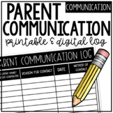 D I G I T A L Parent Communication Log (Google Drive!)