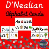 D'Nealian Alphabet Cards