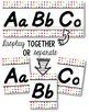 D'Nealian Alphabet Line - Funky Rainbow Polka Dot