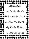 D'Nealian Alphabet Poster