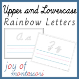 D'Nealian Cursive Handwriting Practice Sheets Upper and Lowercase