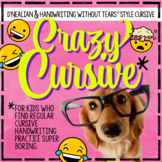 D'Nealian Daily Cursive Practice Cursive Handwriting Practice for older students