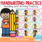 D'Nealian Handwriting Practice (THE BUNDLE)