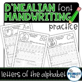 D'Nealian Handwriting Practice: Letters of the Alphabet
